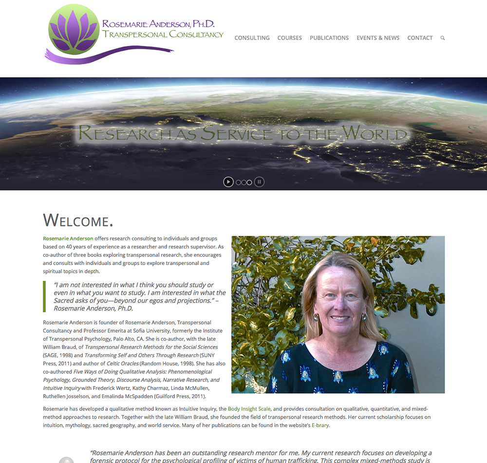 Research Consultant Website